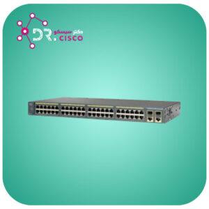 سوئیچ CISCO WS-C2960-48PST-L از محصولات فروشگاه اینترنتی دکتر سیسکو