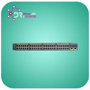 سوئیچ سیسکو WS-C2960-48TT-L از فروشگاه اینترنتی دکتر سیسکو
