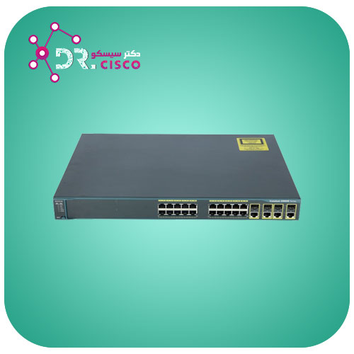 سوئیچ CISCO WS-C2960G-24TC-L از محصولات فروشگاه اینترنتی دکتر سیسکو