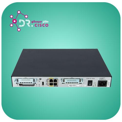 روتر سیسکو مدل Cisco 1841-k9 - از محصولات فروشگاه اینترنتی دکتر سیسکو