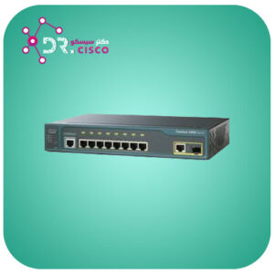 سوئیچ CISCO WS-C2960-8TC-L از محصولات فروشگاه اینترنتی دکتر سیسکو