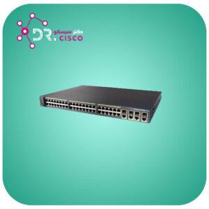 سوئیچ CISCO WS-C2960G-48TC-L از محصولات فروشگاه اینترنتی دکت سیسکو