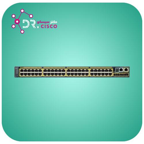 سوئیچ سیسکو CISCO WS-C2960S-48TS-S از محصولات فروشگاه اینترنتی دکتر سیسکو