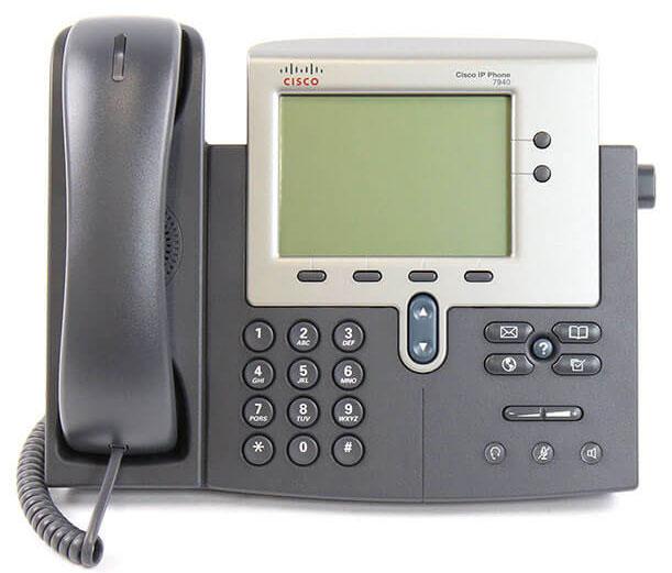 تلفن سیسکو Cisco 7940G - از محصولات فروشگاه اینترنتی دکتر سیسکو