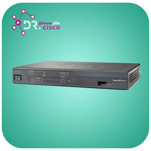 روتر سیسکو - CISCO Router 888/K9 - از محصولات فروشگاه اینترنتی دکتر سیسکو