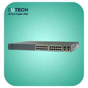 سوئیچ سیسکو مدل WS-C2960-Plus 24PC-L - از محصولات فروشگاه اینترنتی ایوتک
