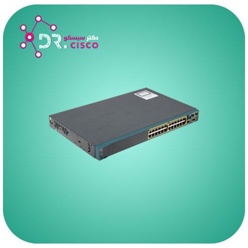 سوئیچ CISCO WS-C2960S-24TS-S از محصولات فروشگاه اینترنتی دکتر سیسکو