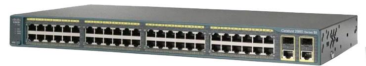 سوئیچ سیسکو CISCO WS-C2960-Plus 48TC-L- از محصولات فروشگاه اینترنتی دکتر سیسکو