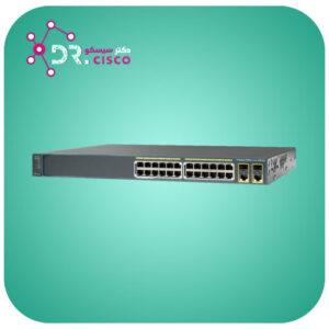 سوئیچ سیسکو CISCO WS-C2960-Plus 24PC-L از محصولات فروشگاه اینترنتی دکتر سیسکو