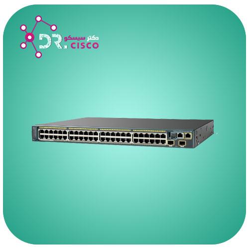 سوئیچ WS-2960S-24LPD-L از محصولات فروشگاه اینترنتی دکتر سیسکو