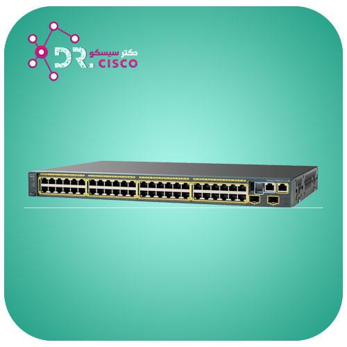 سوئیچ WS-2960S-48TD-L از محصولات فروشگاه اینترنتی دکتر سیسکو