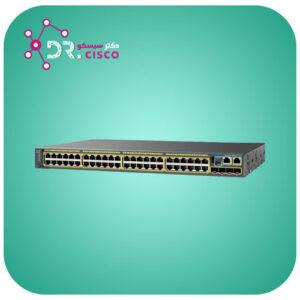 سوئیچ سیسکو CISCO WS-C2960S-48TS-L از محصولات فروشگاه اینترنتی دکتر سیسکو