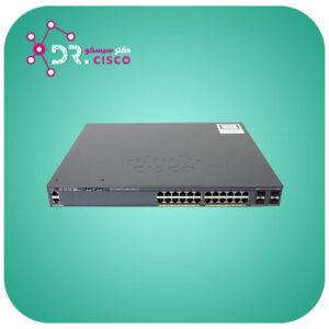 سوئیچ WS-2960X-24PS-L از محصولات فروشگاه اینترنتی دکتر سیسکو