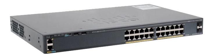 سوئیچ سیسکو - Cisco Switch WS-C2960X-24TS-LL - از محصولات فروشکاه اینترنتی دکتر سیسکو