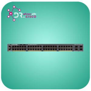 سوئیچ WS-2960X-48LPS-L از محصولات فروشگاه اینترنتی دکتر سیسکو