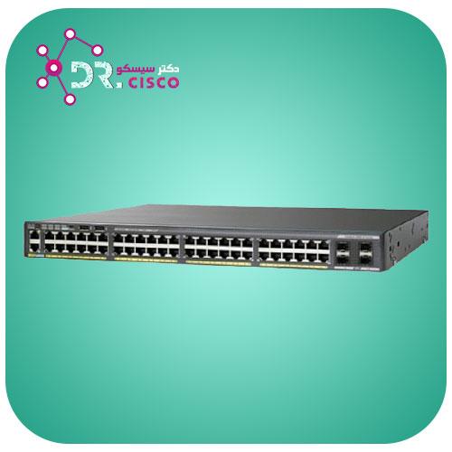 سوئیچ سیسکو CISCO WS-C2960X-48TD-L از محصولات فروشگاه اینترنتی دکتر سیسکو