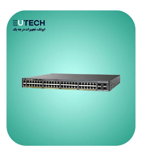 سوئیچ سیسکو مدل WS-C2960X-48TD-L - از محصولات فروشگاه اینترنتی ایوتک