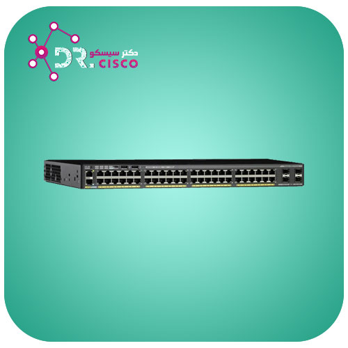 سوئیچ WS-2960X-48TS-L از محصولات فروشگاه اینترنتی دکتر سیسکو