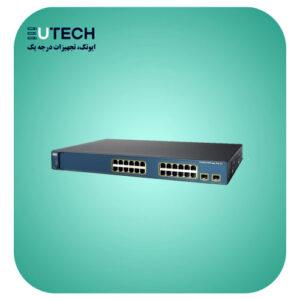 سوئیچ سیسکو مدل WS-C3560-24PS-S - از محصولات فروشگاه اینترنتی ایوتک