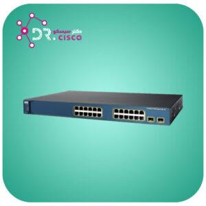 سوئیچ سیسکو مدل WS-C3560-24PS-S از محصولات فروشگاه اینترنتی دکتر سیسکو