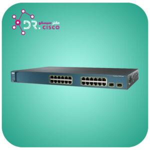 سوئیچ سیسکو مدل WS-C3560-24TS-S H از محصولات فروشگاه اینترنتی دکتر سیسکو