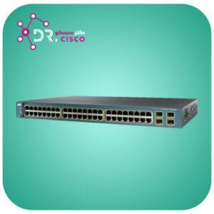 سوئیچ سیسکو WS-C3560-48PS-S از محصولات فروشگاه اینترنتی دکتر سیسکو