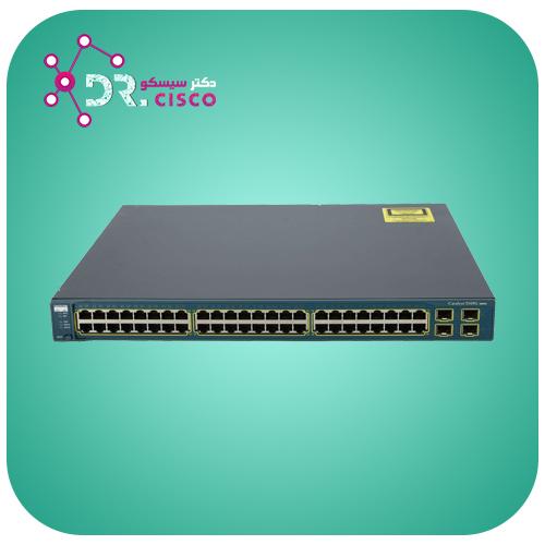 سوئیچ سیسکو WS-C3560-48TS-S از محصولات فروشگاه اینترنتی دکتر سیسکو