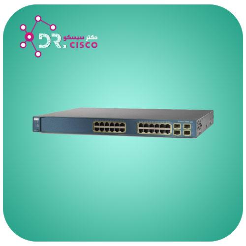 سوئیچ CISCO WS-C3560G-24TS-S از محصولات فروشگاه اینترنتی دکتر سیسکو