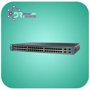 سوئیچ CISCO WS-C3560G-48PS-S از محصولات فروشگاه اینترنتی دکتر سیسکو