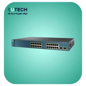 سوئیچ سیسکو مدل WS-C3560V2-24TS-S - از محصولات فروشگاه اینترنتی ایوتک