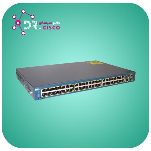 سوئیچ سیسکو WS-C3560V2-48PS-S از محصولات فروشگاه اینترنتی دکتر سیسکو