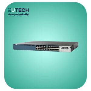 سوئیچ سیسکو مدل WS-C3560X-24T-S - از محصولات فروشگاه اینترنتی ایوتک