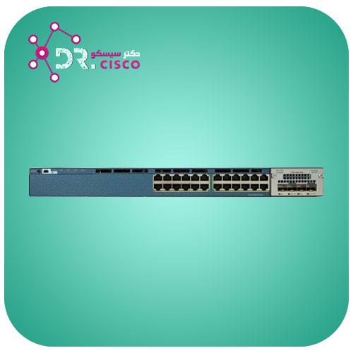 سوئیچ CISCO WS-C3560X-24T-S از محصولات فروشگاه اینترنتی دکتر سیسکو