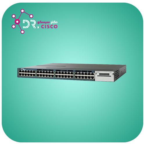 سوئیچ CISCO WS-C3560X-48PF-S از محصولات فروشگاه اینترنتی دکتر سیسکو
