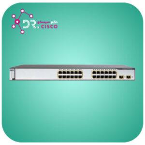 سوئیچ CISCO WS-C3750-24TS-S از محصولات فروشگاه اینترنتی دکتر سیسکو