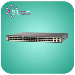 سوئیچ CISCO WS-C3750-48PS-S از محصولات فروشگاه اینترنتی دکتر سیسکو
