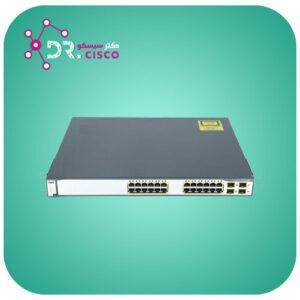 سوئیچ CISCO WS-C3750G-24TS-S از محصولات فروشگاه اینترنتی دکتر سیسکو