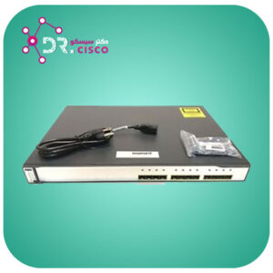 سوئیچ CISCO WS-C3750G-12S-S از محصولات فروشگاه اینترنتی دکتر سیسکو
