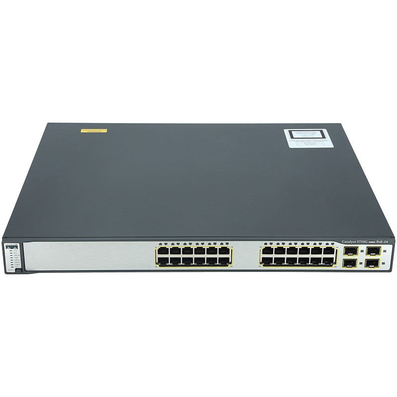 سوئیچ سیسکو CISCO WS-C3750G-24PS-S - از محصولات فروشگاه اینترنتی دکتر سیسکو