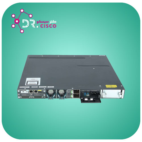 سوئیچ سیسکو CISCO WS-C3750X-48P-S از محصولات فروشگاه اینترنتی دکتر سیسکو