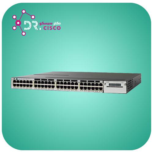 سوئیچ سیسکو CISCO WS-C3750X-48T-S از محصولات فروشگاه اینترنتی دکتر سیسکو
