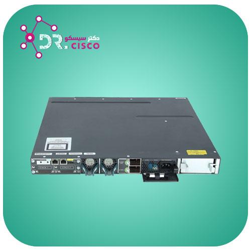 سوئیچ سیسکو CISCO WS-C3750X-48PF-S از محصولات فروشگاه اینترنتی دکتر سیسکو