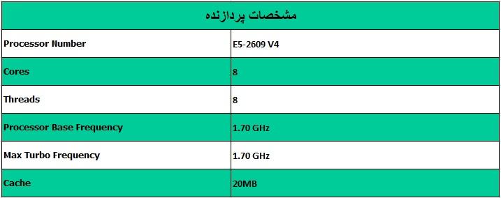 پردازنده اینتل زئون Intel Xeon E5-2609 V4 - از محصولات فروشگاه اینترنتی دکتر سیسکو