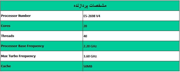 پردازنده اینتل زئون Intel Xeon E5-2698 V4 - از محصولات فروشگاه اینترنتی دکترسیسکو