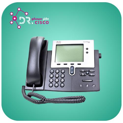 تلفن سیسکو Cisco 7942 - از محصولات فروشگاه اینترنتی دکتر سیسکو