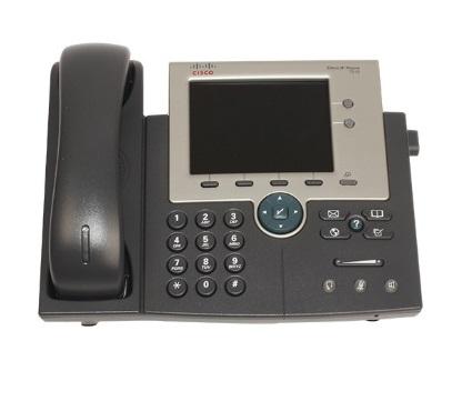 تلفن تحت شبکه سیسکو مدل Cisco Voip 7945G- از فروشگاه اینترنتی دکتر سیسکو
