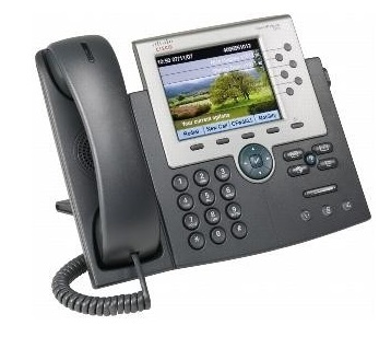 تلفن تحت شبکه سیسکو مدل Cisco Voip 7965G - از محصولات فروشگاه اینترنتی دکتر سیسکو