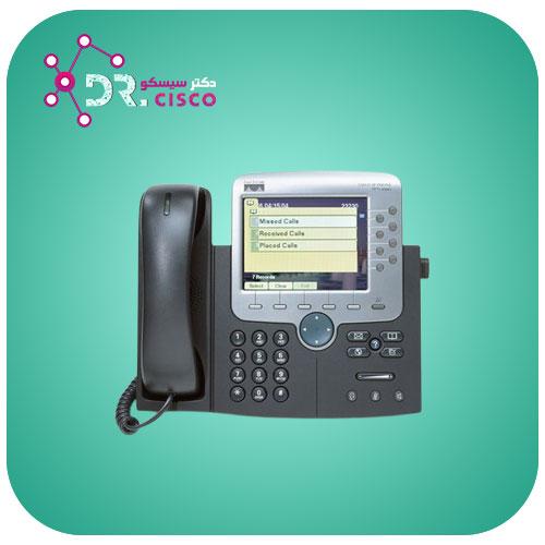 تلفن سیسکو Cisco 7970 - از محصولات فروشگاه اینترنتی دکتر سیسکو