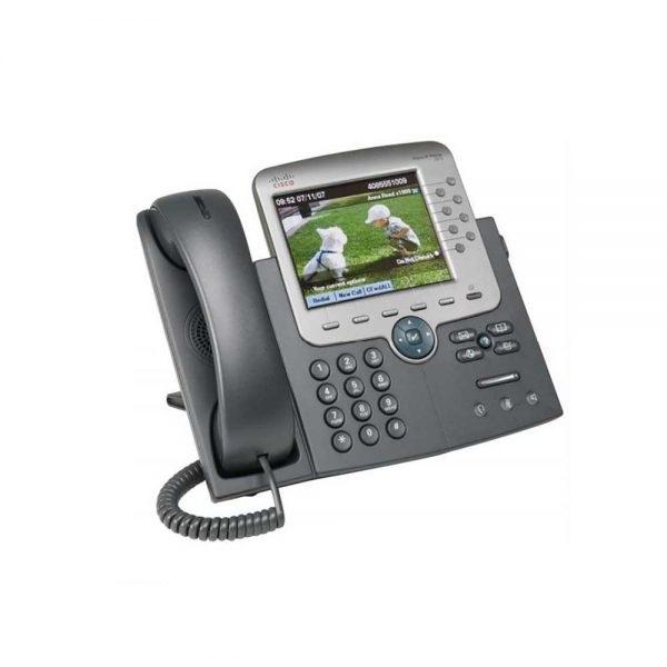 تلفن تحت شبکه سیسکو مدل Cisco Voip 7975G - از محصولات فروشگاه اینترنتی دکتر سیسکو