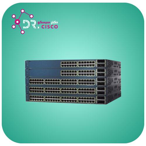 سوئیچ سیسکو CISCO WS-C3560E-24TD-S از محصولات فروشگاه اینترنتی دکتر سیسکو